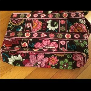 Vera Bradley Bags - Vera Bradley brown/pink floral small size tote